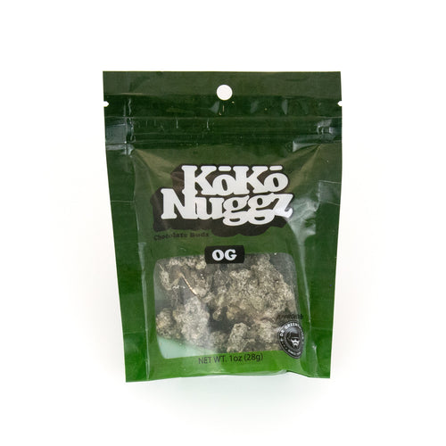 OG Kush Chocolate Buds (1oz) by KokoNuggz - Koko Nuggz Europe