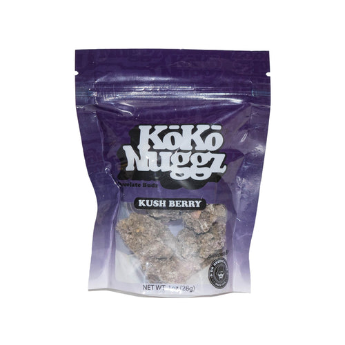 Kushberry Flavour Chocolate Buds (1oz) by KokoNuggz - Koko Nuggz Europe
