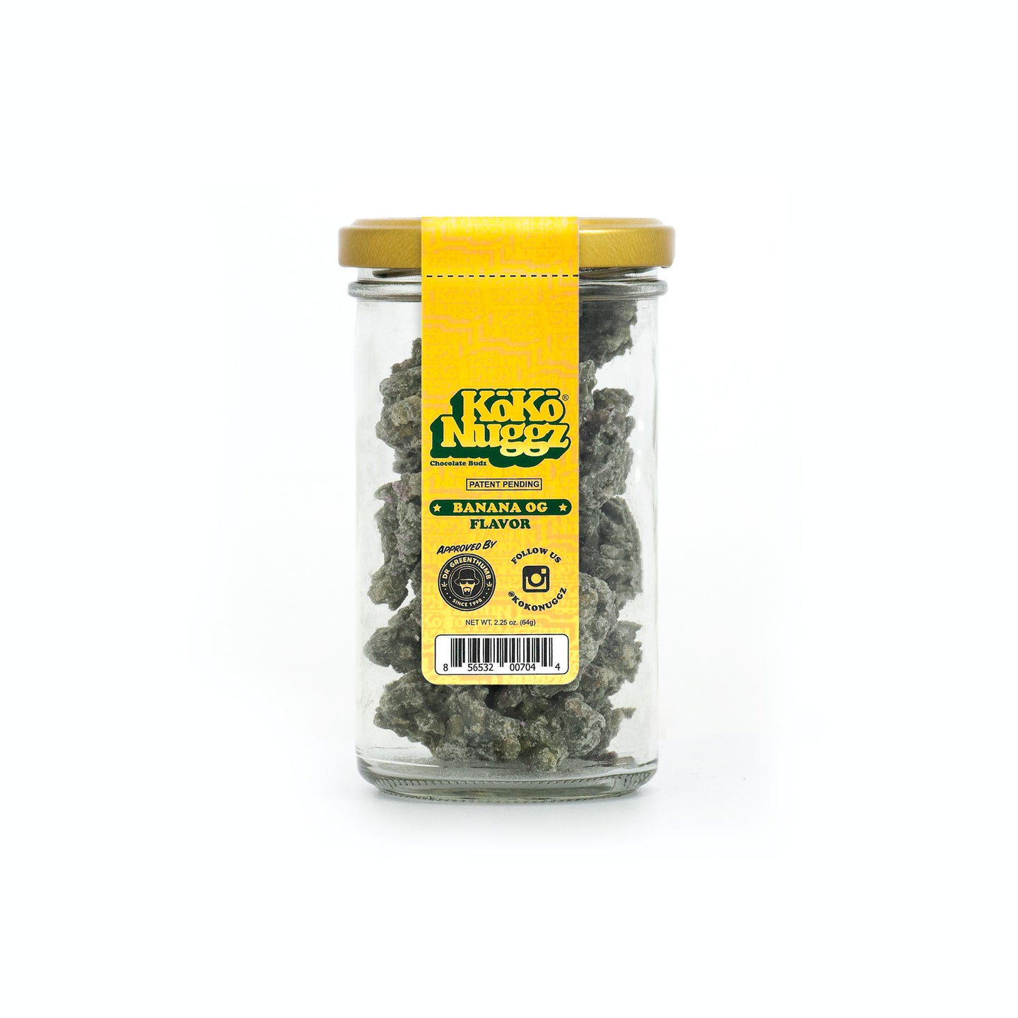 Banana OG Flavour 2.25oz - Koko Nuggz Europe