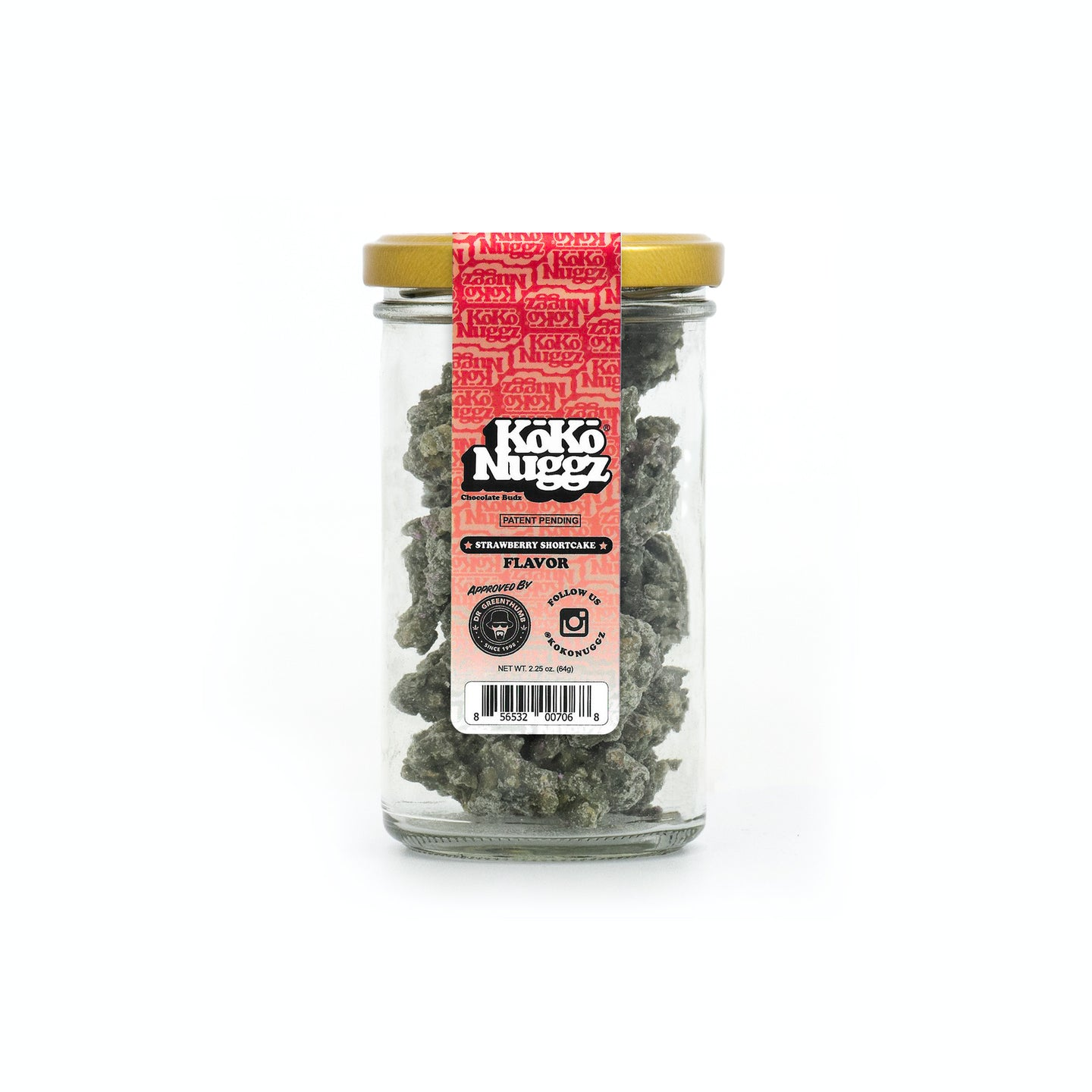 Strawberry Shortcake - 2.25oz - Koko Nuggz Europe
