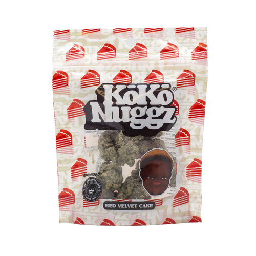 Red Velvet Cake Chocolate Buds (1oz) by KokoNuggz - Koko Nuggz Europe