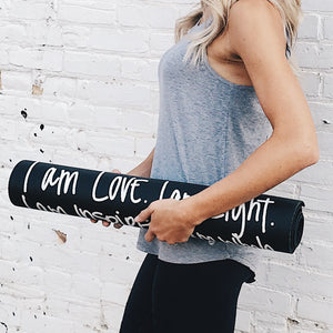 I Am Lite Yoga Mat