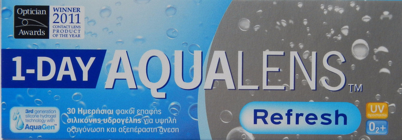 1-Day Aqualens Refresh (30pcs)