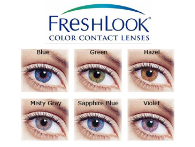 FreshLook Colors Blue (2pcs)