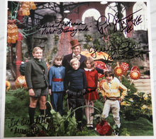 "11"" X 11"" PURE IMAGINATION PHOTO - AUTOGRAPHED BY FIVE"