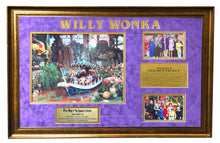 "32"" x 22"" FRAMED WONKATANIA BOAT SCENE COLLAGE - AUTOGRAPHED BY FIVE"