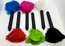 Black Handle Ostrich Feather Computer Duster