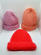 Hand-knitted Mohair Beanies