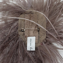 Ostrich Feather Brooches