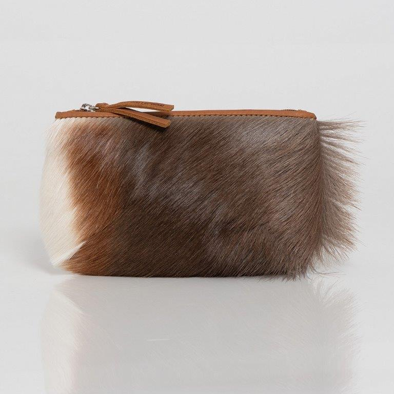 Blesbok Hide Round Purse