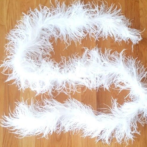 Ostrich Feather BOA, 2 Ply
