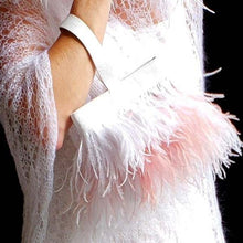 BRIDAL Kristen Ostrich Feather Handbag