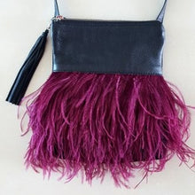 Helen Handbag with Ostrich Feathers