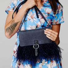 LOLA Feather Bag