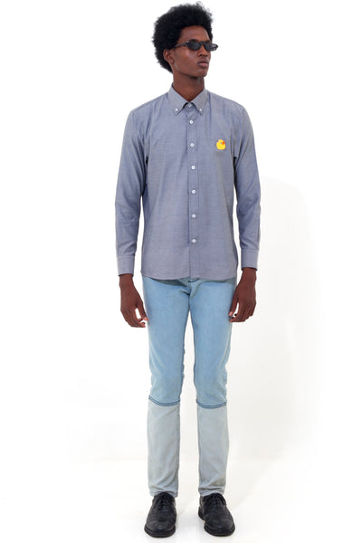 Dark Grey Classic Duck Shirt