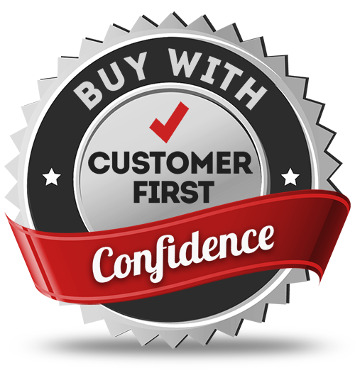 Buy with Customer First Confidence