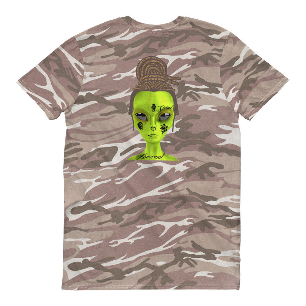 Abnormal camouflage t-shirt