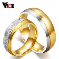 Stainless Steel Love Wedding Ring