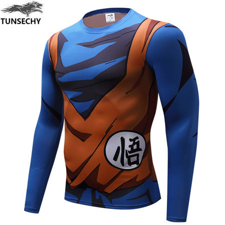 Item Type: Tops Tops Type: Tees Gender: Men Style: Fashion Collar: O-Neck Brand Name: TUNSECHY Material: Spandex,Polyester Fabric Type: Jersey Sleeve Style: Tight sleeve Pattern Type: Print Hooded: No Sleeve Length(cm): Short size:: XS,S,M,L,XL,XXL,XXXL
