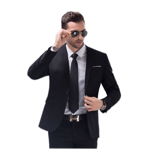 Gender: Men Item Type: Suits Front Style: Flat Brand Name: Batmo Pant Closure Type: Zipper Fly Material: Cotton,Polyester Closure Type: Single Breasted Fit Type: Straight Model Number: X16 P150 Clothing Length: Regular contain: jacket + pants