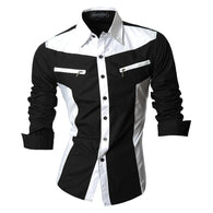 Item Type: Shirts Gender: Men Style: slim fit Pattern Type: Solid Sleeve Length(cm): Full Shirts Type: Casual Shirts Brand Name: jeansian Collar: Turn-down Collar Fabric Type: Broadcloth Material: Cotton,Polyester Closure Type: Single Breasted Model Number: Z018 Sleeve Style: Regular