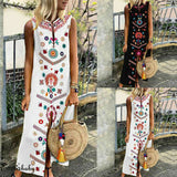 Sleeveless Kaftan Sundress