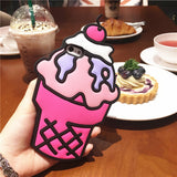 3D Cartoon iPhone Cover