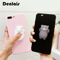 Silicone Squishy Cat Phone Case/ Lite Cover