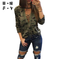 Item Type: Tops Tops Type: Tees Gender: Women Sleeve Length(cm): Full Style: Casual Material: Spandex,Genuine Leather,Polyester Model Number: T Shirts Collar: V-Neck