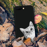 Cat/Space Moon Phone Case