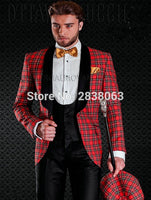 Brand Name: GQER SUITS Gender: Men Item Type: Suits Front Style: Flat Model Number: 3 pieces Style: Casual Fit Type: Skinny Pant Closure Type: Zipper Fly Closure Type: Single Breasted Material: Wool Clothing Length: Regular