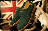 Oxford Suede/ Leather Shoes