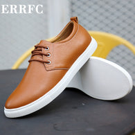 Brand Name: ERRFC Upper Material: PU Outsole Material: Rubber Insole Material: TPR Lining Material: PU Shoes Type: Oxfords Feature: Breathable Closure Type: Lace-Up Model Number: SY05 Season: Spring/Autumn Pattern Type: Solid Fit: Fits true to size, take your normal size Department Name: Adult Item Type: casual shoe
