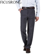 Brand Name: FICUSRONG Style: Casual Fit Type: Loose Material: Polyester,Rayon Waist Type: Mid Length: Full Length Pant Style: Straight Thickness: Lightweight Front Style: Flat Fabric Type: Broadcloth Closure Type: Zipper Fly Model Number: .. Decoration: Pockets Item Type: Full Length Gender: Men