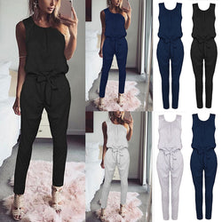 Material: Polyester Type: Jumpsuits Pattern Type: Solid Decoration: None Fit Type: Regular Style: Casual Brand Name: Swokii Model Number: 109299 Item Type: Jumpsuits & Rompers Gender: Women
