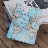 Flamingo Map Passport Cover