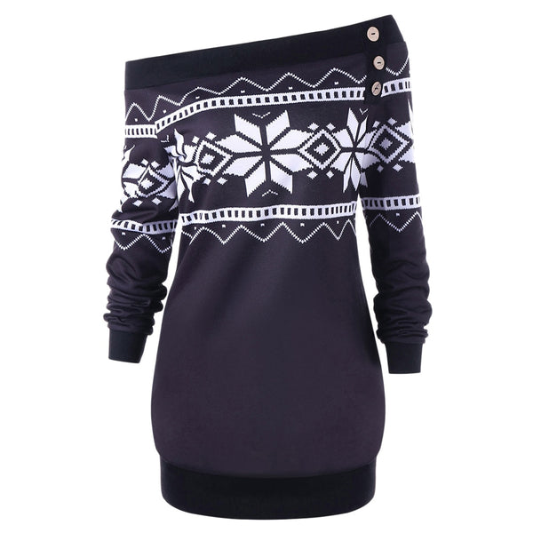 Gender: Women Item Type: Hoodies,Sweatshirts Sleeve Style: Regular Type: Pullovers Model Number: Women T shirt 20180203 Clothing Length: Long Brand Name: GAMISS Fabric Type: Broadcloth Weight: 0.5000kg Material: Polyester,Spandex Sleeve Length(cm): Full Collar: Slash neck Pattern Type: Geometric Hooded: No Style: Casual