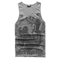Men Fitness Elephant Print  T-Shirt