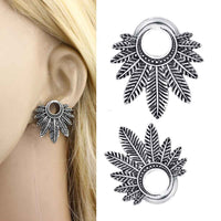 JUNLOWPY Woman Dangle Stud Earrings
