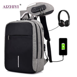 Men Chargeable Backpack