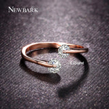 NEWBARK Rose Eternity Ring
