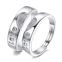 Brand Name: NEHZY Gender: lovers' Metals Type: Silver Material: Metal Occasion: Engagement Style: Cute/Romantic Shape\pattern: Heart Model Number: AKOYW- Rings Type: Cocktail Ring Setting Type: Invisible Setting