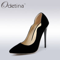 Gender: Women Item Type: Pumps Pump Type: Basic Lining Material: PU Occasion: Party Brand Name: Odetina Model Number: KST&8-9 Heel Type: Thin Heels Upper Material: PU Season: Summer Fit: Fits true to size, take your normal size Closure Type: Slip-On Platform Height: 0-3cm Heel Height: Super High (8cm-up) Style: Mature Insole Material: PU With Platforms: Yes is_handmade: Yes Toe Shape: Pointed Toe Outsole Material: Rubber Fashion Element: Shallow