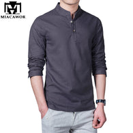 Men Casual Cotton Shirt