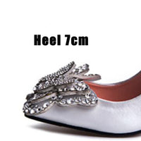 Women Satin Bridal Shoes