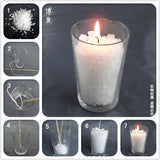 Soy Wax 500g Handmade DIY Candle Making Supplies Particles Paraffin Bars Holiday Birthdays Votive Wedding Candles