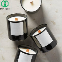 WHISM 10PCS Handmade Wood Candle Wick Sustainers