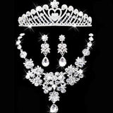 Tiara Rhinestone Wedding Set