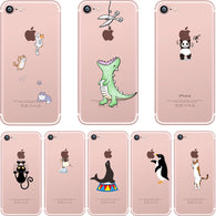 Compatible iPhone Model: iPhone 7 Plus,iPhone 6 Plus,iPhone 6s,iPhone 8 Plus,iPhone 5s,iPhone 6s plus,iPhone 8,iPhone 6,iPhone X,iPhone SE,iPhone 5,iPhone 7 Retail Package: Yes Type: Fitted Case Design: Animal,Cute,Patterned,Transparent Size: 4.0inch 4.7inch 5.5inch 5.8inch Function: Anti-knock Features: soft silicon Brand Name: ciciber Compatible Brand: Apple iPhones Drop Shipping: Support Condition: 100% New Wholesale: Support Type: Case