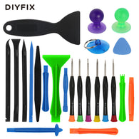 Type: Hand Tools,Pliers,Combination,Screwdrivers Application: Computer Tool Kit Package: Bag Size: approx 20 x 15 cm Number of Pieces: 23 pieces DIY Supplies: Electrical Brand Name: DIYFIX Model Number: Phone Opening Pry Repair Tool Kit Gross weight: 150 g SKU: 13249 Application: Mobile phone ,Tablets,PC,Laptop Material: Metal,Plastic Usage: Phone Disassemble Tools